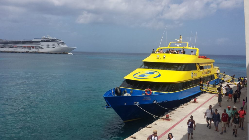 Ferry Cozumel day trip from Playa del Carmen