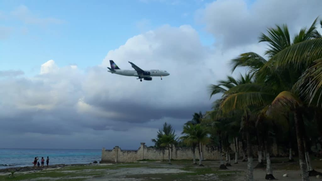 How to get to Cozumel by plane