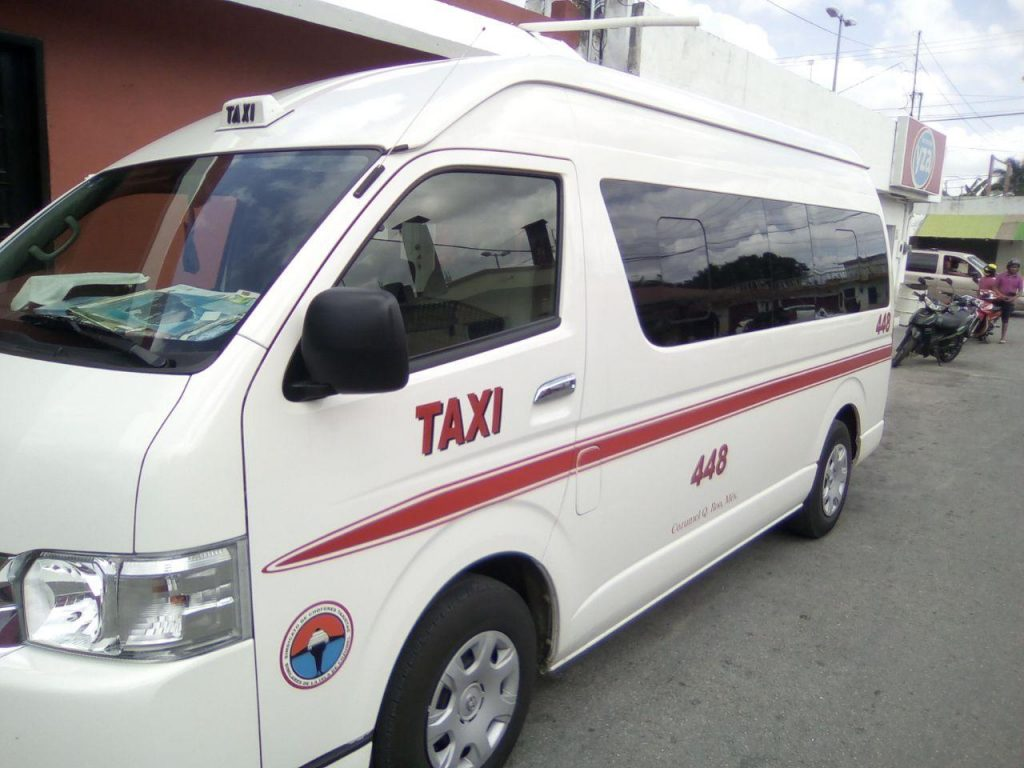 Cozumel excursions: Taxi